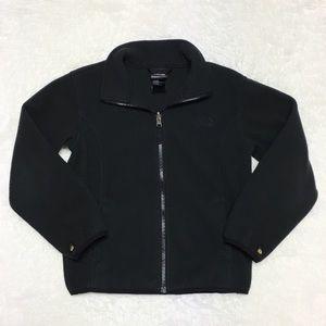 The North Face Black Full Zip Fleece Jacket 1E